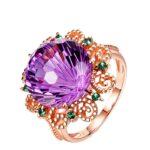 18K-Rose-Gold-Pure-Amethyst-Ring-for-Women-Anillos-De-Fine-Bizuteria-Natural-Amethyst-Gemstone-18K