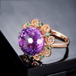 18K-Rose-Gold-Pure-Amethyst-Ring-for-Women-Anillos-De-Fine-Bizuteria-Natural-Amethyst-Gemstone-18K-2