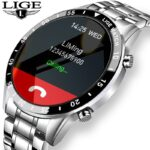 LIGE-2021-New-Luxury-brand-mens-watches-Steel-band-Fitness-watch-Heart-rate-blood-pressure-Activity