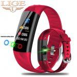 LIGE-Smart-Watch-Women-IP68-Waterproof-Sport-Bracelet-Smart-Fitness-Tracker-Blood-Pressure-Heart-Rate-Monitor
