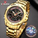 NAVIFORCE-Luxury-Brand-Mens-Digital-Chronograph-Watches-Military-Sport-Quartz-Gold-WristWatch-Waterproof-Clock-Relogio-Masculino