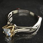 New-925-Sterling-Silver-Ring-Six-Claws-Eight-Hearts-And-Arrows-Zircon-Simulation-Moissan-Diamond-Ring-1