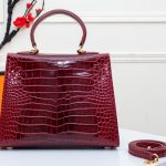 New-crocodile-pattern-high-quality-ladies-handbag