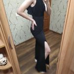 One Shoulder Sleeveless Dress photo review