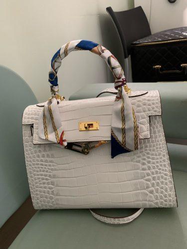 Crocodile Pattern Ladies Handbag photo review