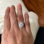 Moissanite Gold Ring photo review